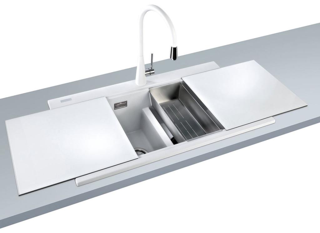 Lavelli in acciaio inox e fragranite a Salzano - Venezia