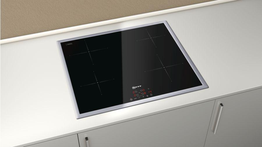 Piano cottura INDUZIONE NEFF ad incasso da 60 cm - comandi integrati